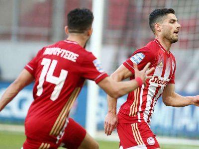 Οι πρωταθλητές επικράτησαν 1-0 με σκόρερ τον Γιώργο Μασούρα (32') προσθέτοντας ακόμη μία επιτυχία στον δρόμο της κατάκτησης του 46ου τίτλου. Ισόπαλες έληξαν οι αναμετρήσεις Αρης-Παναθηναϊκός (0-0) και Αστέρας Τρίπολης-ΑΕΚ (1-1).