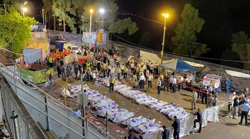 Το Ισραήλ είναι συγκλονισμένο από την τραγωδία με δεκάδες νεκρούς που ποδοπατήθηκαν με τις σκηνές να ήταν χαοτικές.