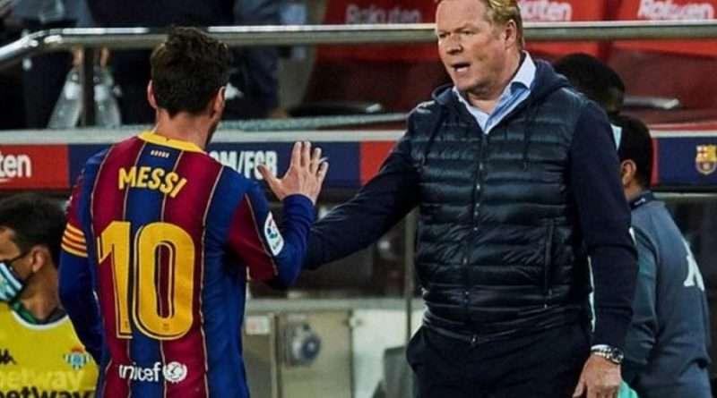 """Μπαρτσελόνα: Ο Κούμαν θα συνεχίσει μαζί μας τη νέα σεζόν ως προπονητής της Μπαρτσελόνα"""" δήλωσε ο πρόεδρος των μπλαουμπράνα Λαπόρτα."""