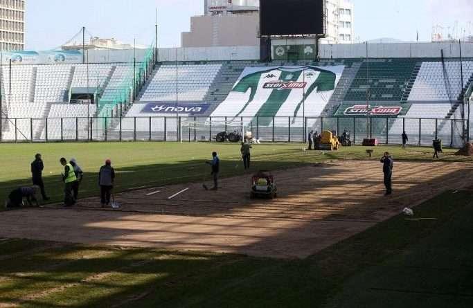 Παναθηναϊκός: Συνεχίζονται οι εργασίες κανονικά και με γρήγορους ρυθμούς στη Λεωφόρο, ενόψει της νέας σεζόν.