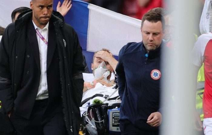 UEFA: «Στο νοσοκομείο και σε σταθερή κατάσταση ο Ερικσεν» Ο Έρικσεν ζει και κάνει εξετάσεις!!!!