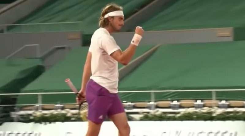 Ο Στέφανος Τσιτσιπάς επικράτησε με 3-1 σετ του Τζον Ίσνερ και προκρίθηκε στην φάση των «16» του Roland Garros.