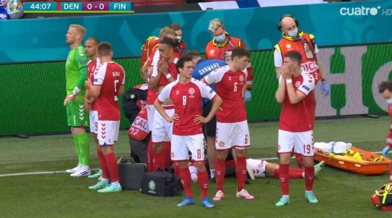 Σοκ!!!Στο Δανία – Φιλανδία για το Euro 2021, καθώς την ώρα του αγώνα κατέρρευσε ο Κρίστιαν Έρικσεν!!!!