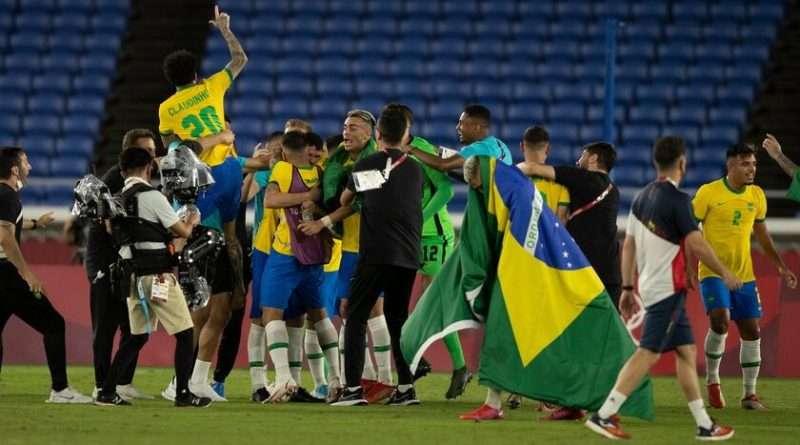 Χρυσό η Βραζιλία στους Ολυμπιακούς του Τόκιο, η οποία επικράτησε της Ισπανίας με σκορ 2-1 σε ένα ματς που χρειάστηκε να πάει στην παράταση .