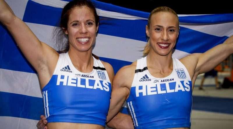 Άλμα επί κοντώ: κατάφεραν και πήραν την πρόκριση στον τελικό του αγωνίσματος οι Ελληνίδες Στεφανίδη - Κυριακοπούλου .