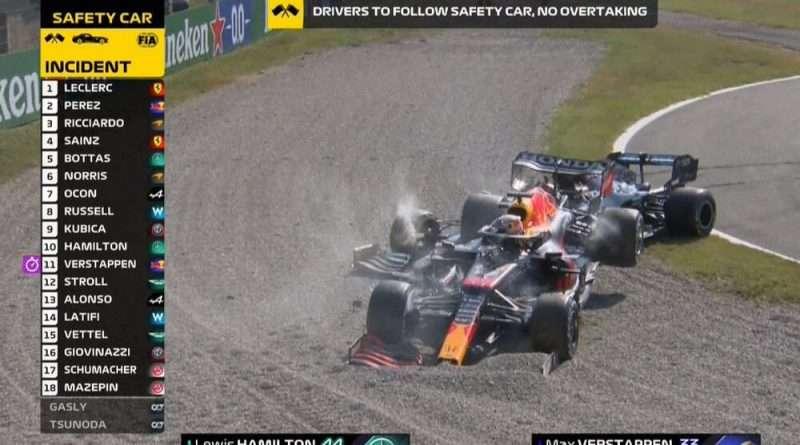 Grand Prix της Formula 1 στην Μόντσα μετά από τη σύγκρουση των Χάμιλτον και Φερστάπεν - Εκτός αγώνα οι δυο «πιλότοι»