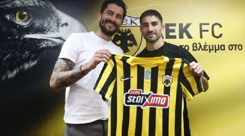 Η ΑΕΚ προχώρησε στην ανακοίνωση της απόκτησης του Μιλάντ Μοχαμαντί που έγινε η 14η μεταγραφή για το καλοκαίρι.