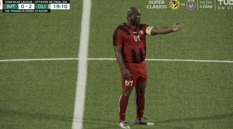 Τρομερά πράγματα σε ματς για το CONCACAF League όπου ο 60χρονος αντιπρόεδρος χώρας έπαιξε βασικός σε ματς με ομάδα από την Ονδούρα.