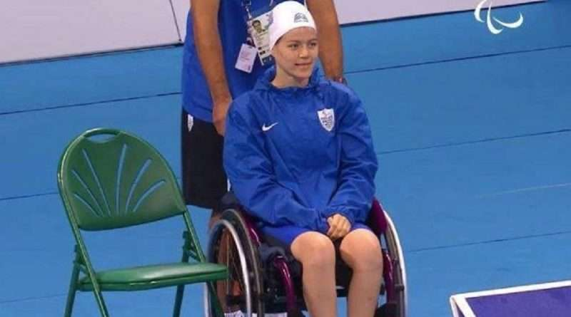 Παραολυμπιακοί Αγώνες: Η Αλεξάνδρα Σταματοπούλου έδωσε ένα ακόμα μετάλλιο στην Ελλάδα, χάλκινο και αυτό με την επίδοση της στα 50μ. ύπτιο.