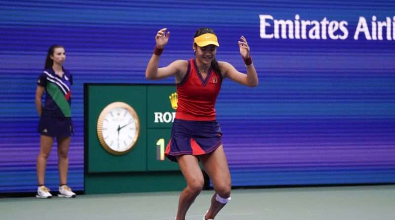 Η Έμα Ραντουκάνου είναι η μεγάλη νικήτρια του US Open!