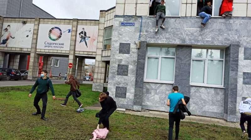 Ρωσία: Επίθεση ενόπλου με νεκρούς σε πανεπιστήμιο - Πήδηξαν από τα παράθυρα για να σωθούν. Κάνουν λόγο για 3 νεκρούς.