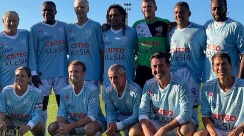 Ο Κριστιάν Καρεμπέ ήταν στην Γαλλία τις τελευταίες ημέρες όπου συμμετείχε σε παιχνίδι για φιλανθρωπικό σκοπό, μαζί με τον Εμάνουελ Μακρόν.